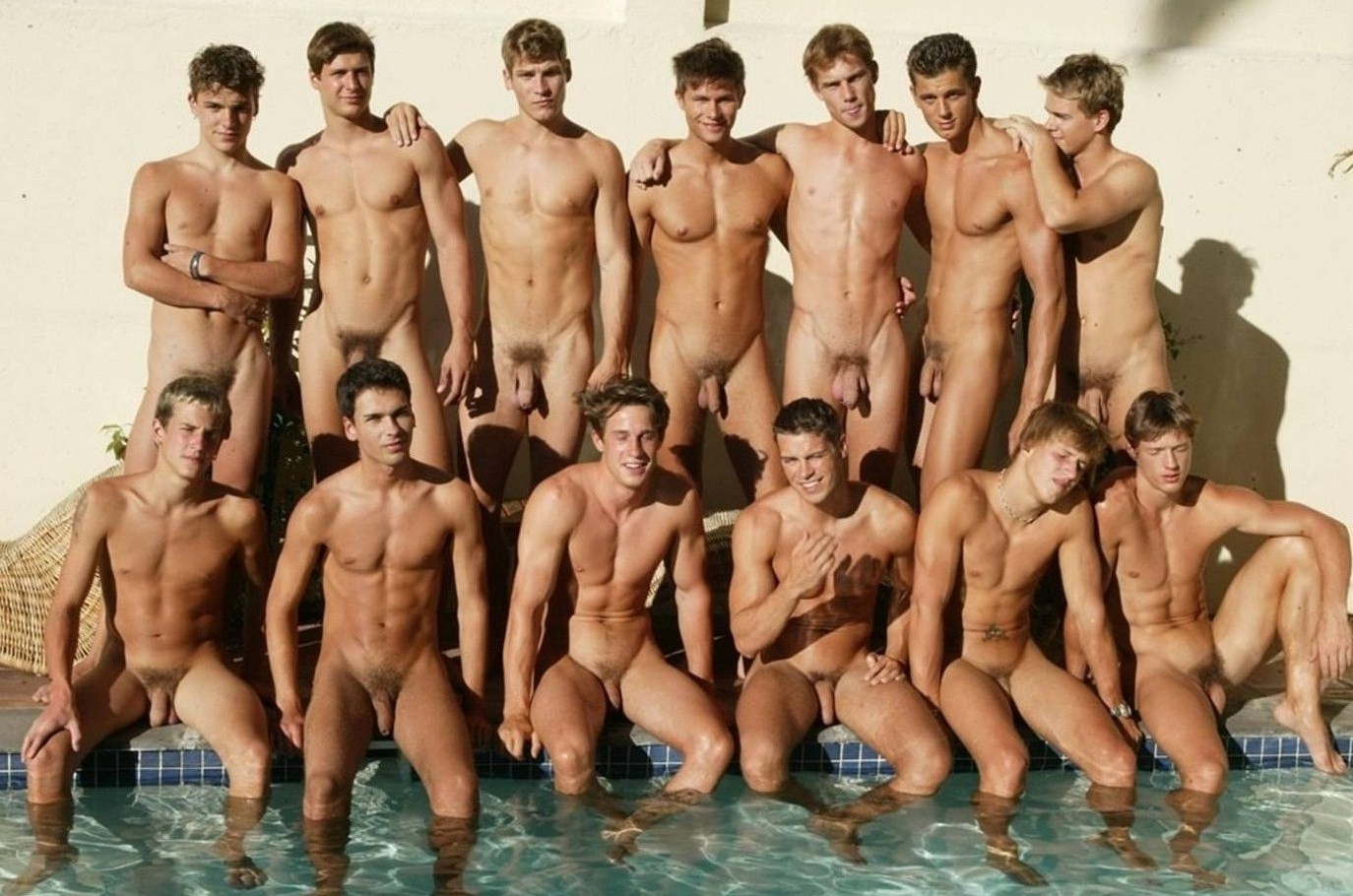 Male Naked Group